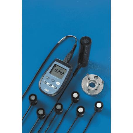 Miernik promieniowania UV, natężenia oświetlenia i luminancji DeltaOHM HD2302.0 z sondami fotometrycznymi