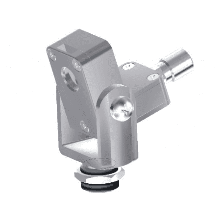 Przedmuch soczewki (laminarny) z widelcem montażowym