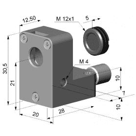 Przedmuch soczewki (laminarny) do pirometrów 1M/ 2M/ 3M ze zintegrowaną soczewką CF