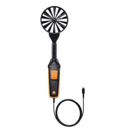 Kablowa sonda wiatraczkowa 100mm z czujnikiem przepływu i temperatury powietrza Testo 0635 9432