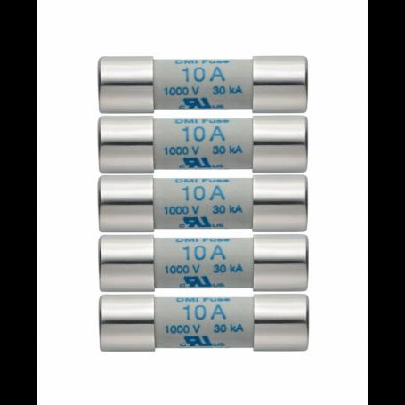 Zestaw 5 szt. zapasowych bezpieczników 11A 1000V Testo 0590 0004