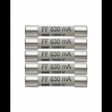 Zestaw 5 szt. zapasowych bezpieczników 440mA 100V Testo 0590 0006
