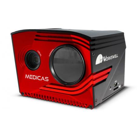 Medyczna kamera termowizyjna Workswell MEDICAS