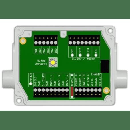 Przemysłowy interfejs procesowy Industrial PIF do kamer Xi80