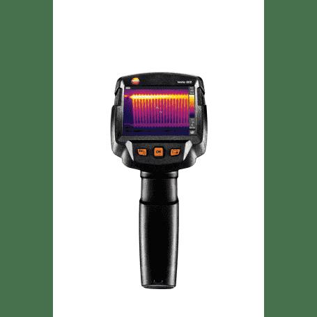 Testo 865 - Ręczna kamera termowizyjna dla instalatorów - widok z przodu