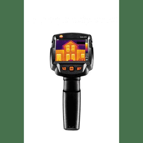Testo 872 - Przenośna kamera termowizyjna wysokiej rozdzielczości - widok z przodu