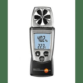 Testo 410-2 - Anemometr wiatraczkowy (skrzydełkowy) z pomiarem wilgotności i temperatury powietrza 0560 4102