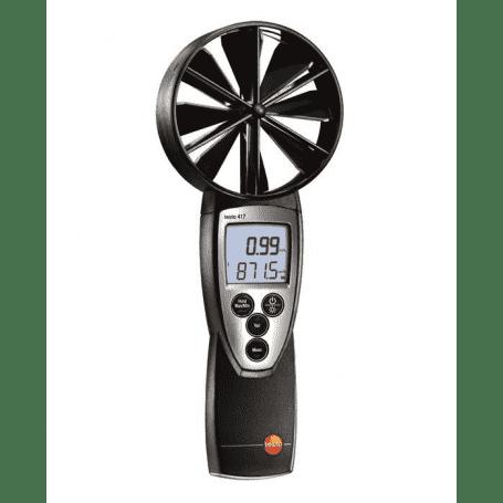 Testo 417 - Anemometr do kratek wentylacyjnych i anemostatów z wiatraczkiem 100mm 0560 4170