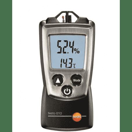 Testo 610 - Wilgotnościomierz powietrza (higrometr inspekcyjny)