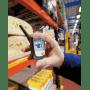 Testo 605-H1 - Inspekcyjny wilgotnościomierz powietrza (higrometr przenośny) - pomiar wilgotności w magazynie spożywczym