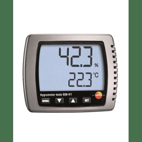 Testo 608-H1 - Ścienny higrometr elektroniczny