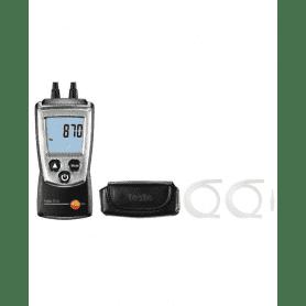 Testo 510 - Elektroniczny manometr różnicowy