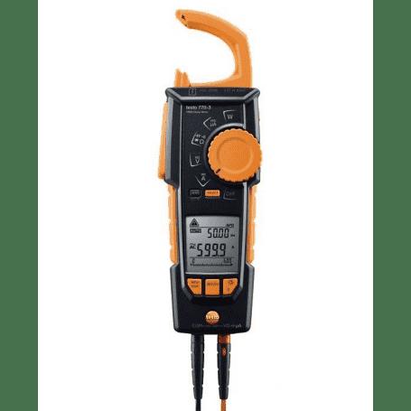 Testo 770-3 - Amperomierz cęgowy (cęgowy miernik prądu) z rejestracją i transmisją Bluetooth