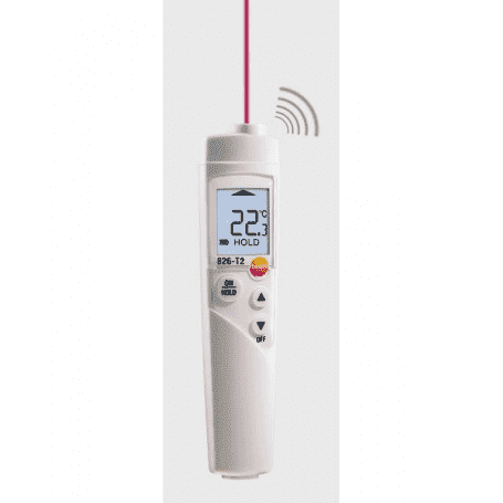 Testo 826-T2 - Termometr na podczerwień HACCP
