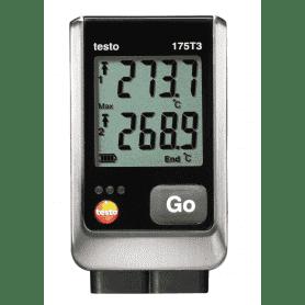 Testo 175-T3 - 2-kanałowy rejestrator temperatury z dwoma czujnikami zewnętrznymi