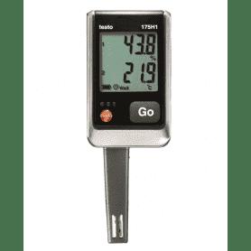 Testo 175-H1 - 2-kanałowy rejestrator temperatury i wilgotności z czujnikami wbudowanymi