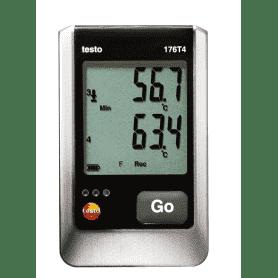 Testo 176-T4 - 4-kanałowy rejestrator temperatury z 4 sondami zewnętrznymi
