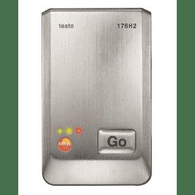 Testo 176-H2 - 4-kanałowy rejestrator temperatury i wilgotności z 2 gniazdami sond zewnętrznych