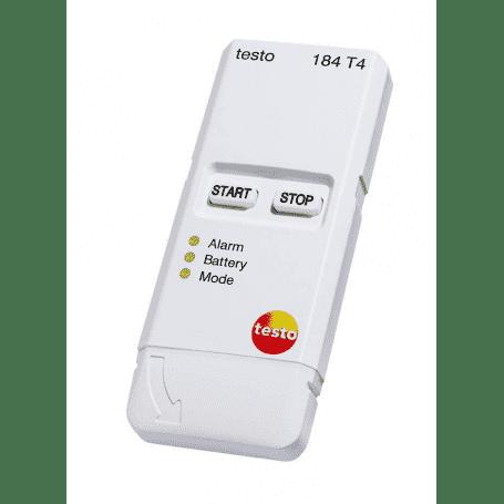 Testo 184 T4 - Rejestrator temperatury USB bez wyświetlacza dla transportu
