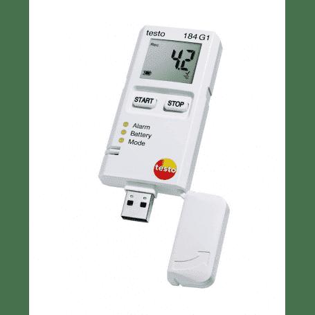 Testo 184 G1 - Rejestrator temperatury, wilgotności i wstrząsów dla transportu