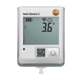 Testo Saveris 2-T1 - Rejestrator temperatury Wi-Fi z wbudowanym czujnikiem i wyświetlaczem