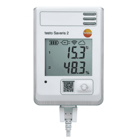 Testo Saveris 2-H1 - Rejestrator wilgotności i temperatury Wi-Fi