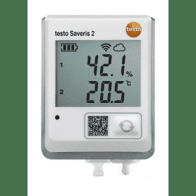 Testo Saveris 2-H2 - Rejestrator WiFi z wyświetlaczem i zew. sondą temperatury i wilgotności