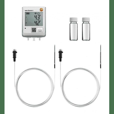 Testo Saveris 2 - Rejestrator temperatury do lodówki farmaceutycznej