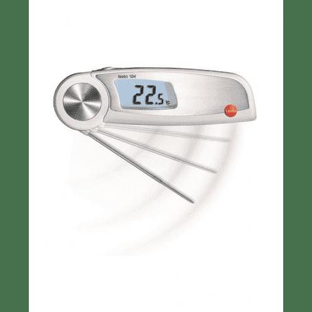 Testo 104 - Wodoodporny termometr spożywczy z sondą HACCP