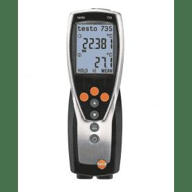 Testo 735-1 - Wielofunkcyjny termometr laboratoryjny z wymiennymi czujnikami temperatury