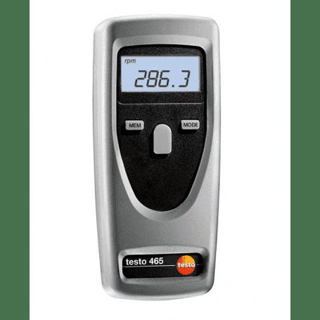 Testo 465 - Miernik do pomiaru prędkości obrotowej (tachometr optyczny)