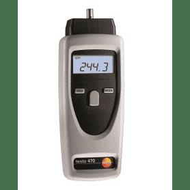 Testo 470 - Miernik do pomiaru prędkości rpm (tachometr)