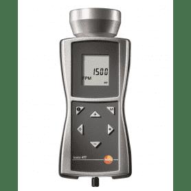 Testo 477 - Przenośny stroboskop LED do pomiaru prędkości obrotowej