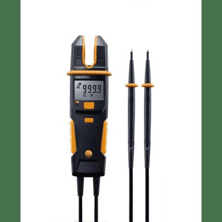 Testo 755-2 - Tester napięcia AC DC i prądu AC z pomiarem rotacji faz