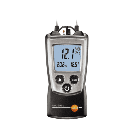 Testo 606-2 - Wilgotnościomierz materiałów budowlanych z pomiarem temp. i wilgotności powietrza