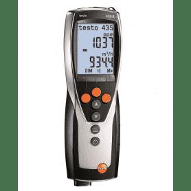 Testo 435-3 - Wielofunkcyjny przyrząd pomiarowy z zintegrowanym pomiarem ciśnienia różnicowego