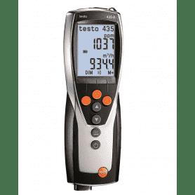Testo 435-2 - Wielofunkcyjny przyrząd pomiarowy z możliwością zapisywania danych pomiarowych na PC