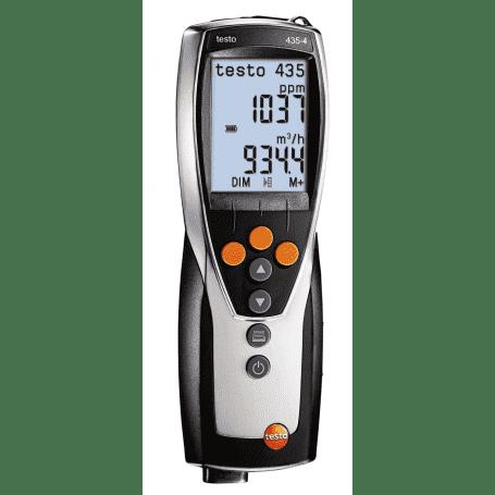Testo 435-4 - Wielofunkcyjny przyrząd pomiarowy do systemów wentylacji i klimatyzacji HVAC
