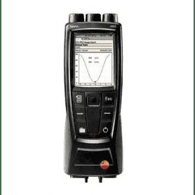 Testo 480 - Wielofunkcyjny miernik do pomiaru temperatury, wilgotności i przepływu powietrza