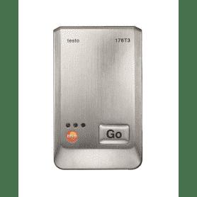 Testo 176-T3 - 4-kanałowy rejestrator temperatury z 4 gniazdami sond termoparowych