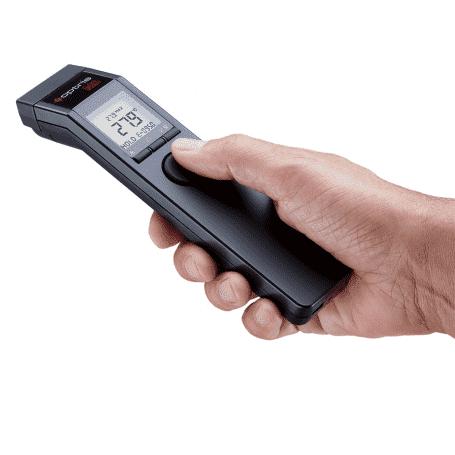 Profesjonalny pirometr laserowy Optris MS Plus z rejestracją na PC