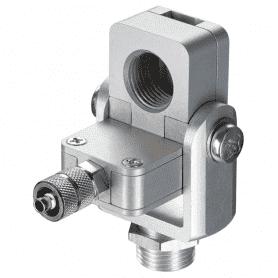 ACCTAPLMF - laminarny przedmuch soczewki ze zintegrowanym widelcem montażowym