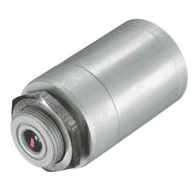 D06ACCTMHACFHT - obudowa masywna z anodowanego aluminium, ze zintegrowana soczewka CF do pirometrów 1M 2M 3M