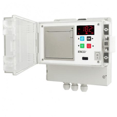 Rejestrator temperatury z drukarką do chłodni ESCO DR 202