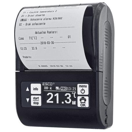 Termograf samochodowy z drukarką DR 203