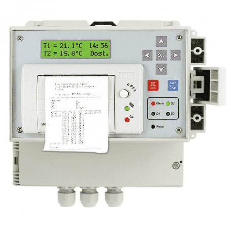 Transportowy rejestrator temperatury z drukarką ESCO DR 400
