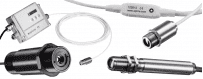 Pirometry stacjonarne Optris seria Compact: CS TCLT, CSmicro, CX, CT w wersji 1-częściowej