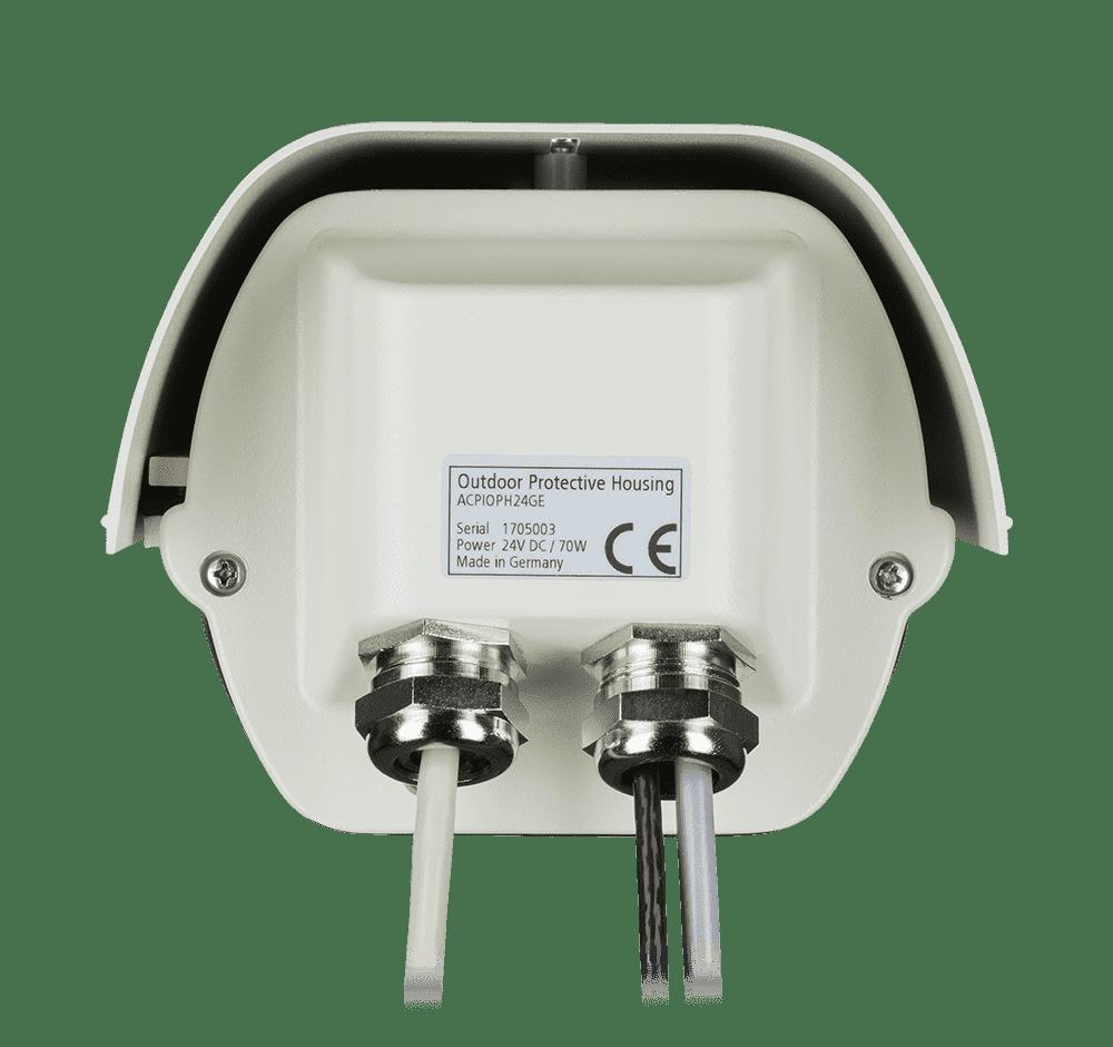 Zewnętrzna obudowa ochronna do kamer termowizyjnych - tył