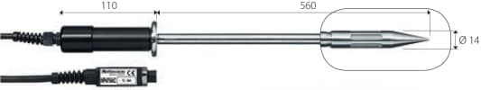 Sonda wilgotności i temperatury DeltaOHM HP475ACR