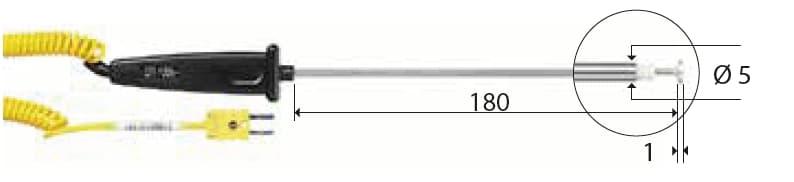 Kontaktowa termopara typu K DeltaOHM TP745